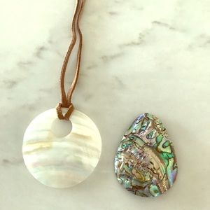 Jewelry - 2 shell necklaces